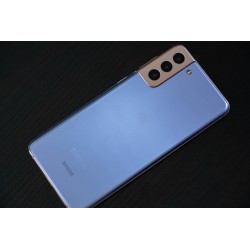Coque PLATING bleue pour SAMSUNG GALAXY NOTE 2 N7100