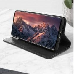 Etui Portefeuille rose FENETRE pour Samsung Galaxy S4 mini GT-I9195X
