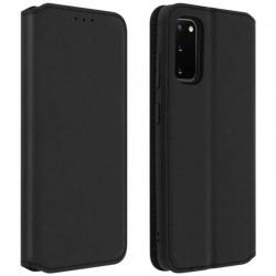 Etui Portefeuille noir FENETRE pour Samsung Galaxy S4 mini GT-I9195X