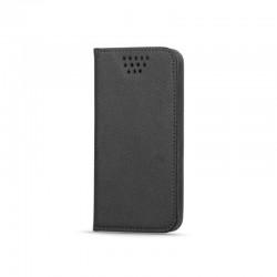 Etui CROCO Portefeuille noir pour Samsung Galaxy S4 mini GT-I9195X